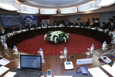 An international conference on the topic of 'Breakthrough of the blockade of Stepanakert after 25 years' took place at Elite Plaza BC - Photolure News Agency
