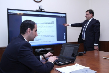 MoF SHHASHDZB 15 / 3-07 / 17 coded procurement procedure for purchase of land and property tax receipts printing works were launched at the RA Ministry of Finance - Photolure News Agency