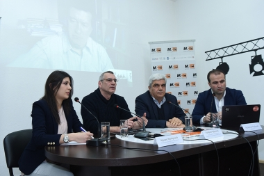 A press conference on the topic of 'Internal and external factors of aggravation of the situation in the NKR conflict' took place at the Media Center - Photolure News Agency