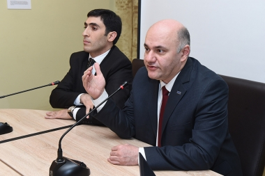 Representatives of the 'Armenian Renaissance' party are guests in '#Hodvats 3' press club - Photolure News Agency