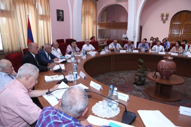 RA Ministry of Diaspora and H. Acharian Institute of Language of the RA NAS organized a conference on topic of 'Problems of the convergence of Western and Eastern Armenian' took place at the RA NAS - Photolure News Agency