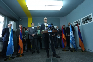 The first week of the pre-election campaign in Yerevan, Armenia - Photolure News Agency