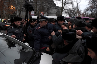 A protest march in memory of Artur Sargsyan who supplied food to the members of 'Sasna Tsrer' group took place in Yerevan - Photolure News Agency