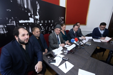 A press conference dedicated to 'New York - Yerevan Jazz Connection' concert took place at Grand Hotel Yerevan - Photolure News Agency