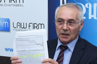Advisor to the chairman of the RA National Statistical Service Gurgen Martirosyan gave a press conference at Blitz Info press club - Photolure News Agency
