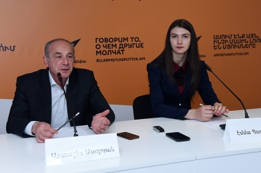 Fencing Federation summarized the results of the World Youth Fencing Championship at Sputnik Armenia press center - Photolure News Agency