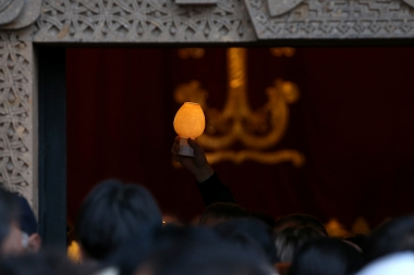 Torchlight procession ahead of the St. Resurrection Day took place in Yerevan, Armenia - Photolure News Agency