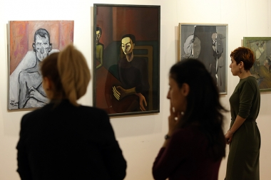 An exhibition of young artists dedicated to the International Family Day under the title of 'Present' opened at the UN Office in Yerevan, Armenia - Photolure News Agency