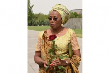 Aurora Prize Laureate Marguerite Barankitse paid a visit to the Armenian Genocide memorial complex - Photolure News Agency