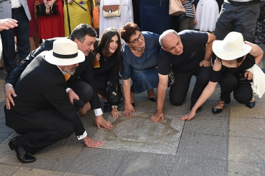 Opening the stars perpetuating the memory of Yuri Yerznkyan, Sergey Israelyan and Frunze Dovlatyan took place on Charles Aznavour Square - Photolure News Agency