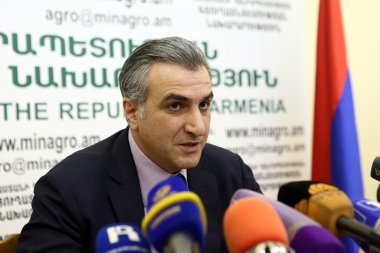 RA Minister of Agriculture Ignati Arakelyan gave a press conference - Photolure News Agency