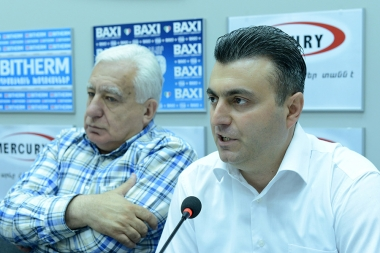 A press conference dedicated to 'The Golden Vote 2017' international contest took place in Armenpress press club - Photolure News Agency
