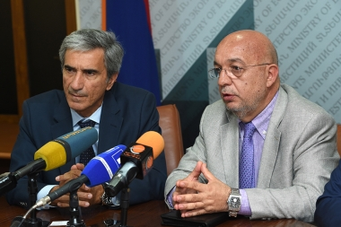 'Technology and Science Dynamics' and IDS Italian companies gave a joint press conference at the RA Ministry of Economic Development and Investments - Photolure News Agency