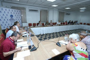 A public discussion on the topic of the 'Systematic Impunity as a Challenge for Criminal Justice' took place at Congress Hotel - Photolure News Agency