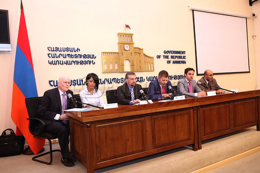 A press conference dedicated to the launch of a large-scale