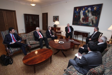 RA Minister of Foreign Affairs Edward Nalbandian received OSCE Minsk Group Co-Chairs - Photolure News Agency