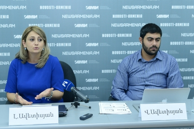 A press conference on the topic of the 'Statistical Analysis of Labor Market of Armenia' took place at Novosti-Armenia press center - Photolure News Agency