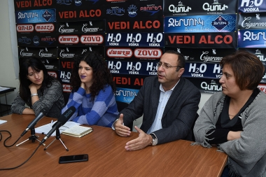 A press conference on the topic of 'Persecution against Garo Yegnukian's family. The last trial of his case' took place in Hayeli press club - Photolure News Agency