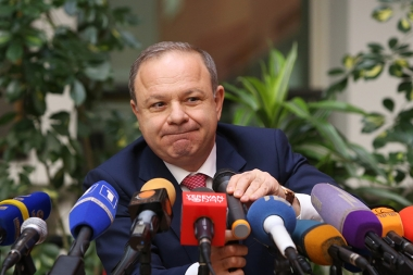 RA Minister of Health Levon Altunyan gave a press conference at Grand Hotel Yerevan - Photolure News Agency