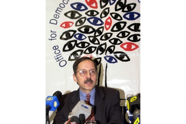 Peter Eicher gave a press conference - Photolure News Agency