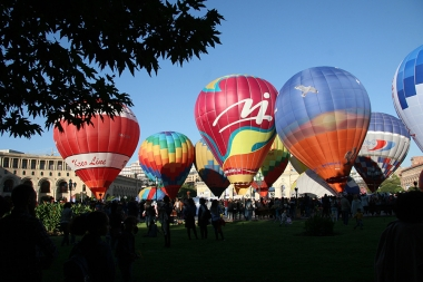 International balloon festival within the framework of 'Erebuni-Yerevan 2799' in Yerevan, Armenia - Photolure News Agency
