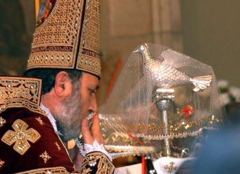A liturgy was served on the occasion of Armenian Christmas at the Mother See of Holy Etchmiadzin - Photolure News Agency