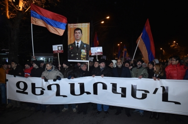 'New Armenia' civil initiative held a protest march in Yerevan, Armenia - Photolure News Agency