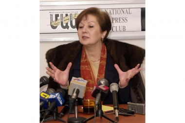 NKR Foreign Minister Naira Melkumyan - Photolure News Agency
