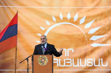 'New Armenia' Public Salvation Front gave a press conference on Freedom Square - Photolure News Agency