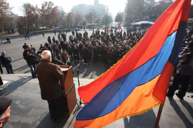 'New Armenia' Public Salvation Front and 'No' front hold a joint protest action on Freedom Square - Photolure News Agency
