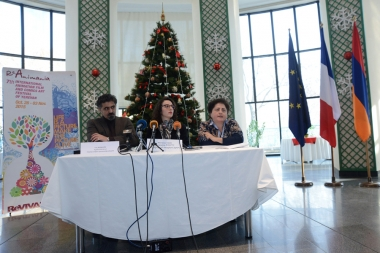 A press conference dedicated to 'ReAnimania' festival took place at the French Embassy in Armenia - Photolure News Agency