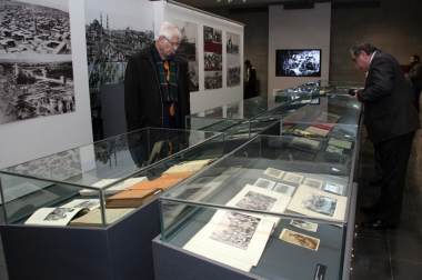 Opening ceremony of a temporary exhibition entitled 'Struggling for life and dignity. Defensive battles during the Genocide' and presentation of a catalog took place at the Armenian Genocide Museum-Institute - Photolure News Agency