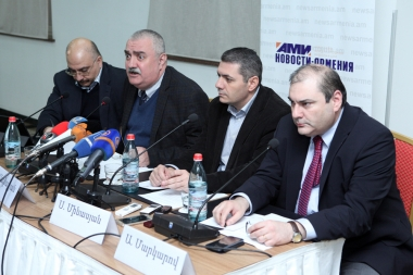 Experts of 'Novosti-Armenia' international news agency spoke about the planned meeting of the RA President Serzh Sargsyan and President of Azerbaijan Ilham Aliyev at Congress Hotel - Photolure News Agency