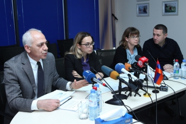 Presentation of the loan in the amount of 55 million US dollars from the World Bank's Board of Directors within the framework of the program 'Development of the local economy and infrastructure' took place at World Bank Yerevan Office - Photolure News Agency