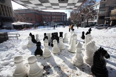 Snowfall in Yerevan - Photolure News Agency