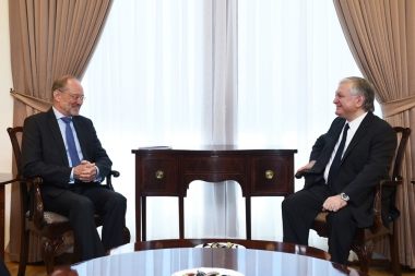 RA Minister of Foreign Affairs Edward Nalbandian received Special Representative of the OSCE Chairperson-in-Office for the South Caucasus Gunther Bachler - Photolure News Agency