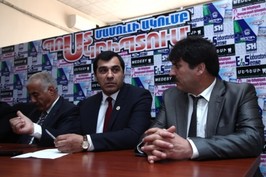 A press conference on the topic of world genocides took place in P.S. press club - Photolure News Agency