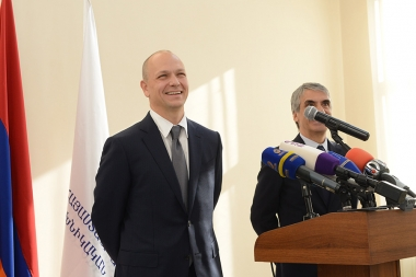 Founder of 'Nest Labs' company, inventor of the iPod Tony Fadell paid a visit to the National Polytechnic University of Armenia - Photolure News Agency