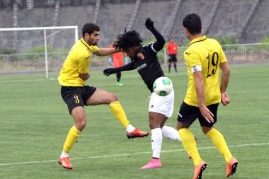 FC Alashkert vs. FC Shirak football match during the Armenian Premiere League - Photolure News Agency