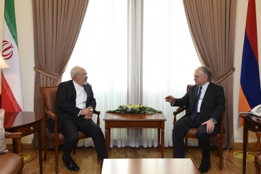 RA Minister of Foreign Affairs Edward Nalbandian received Minister of Foreign Affairs of Iran Mohammad Javad Zarif - Photolure News Agency