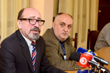 Chairman of the RA Union of Cinematographers Harutyun Khachatryan gave his first press conference since his appointment at the RA Union of Cinematographers - Photolure News Agency
