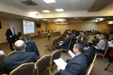 A press conference on the solutions of key business problems, organized by the Republican Union of Employers of Armenia with the support of the International Labor Organization took place at Elite Plaza BC - Photolure News Agency
