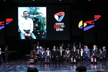 Honoring ceremony of the best athletes of Armenia for 2017 year took place at the Karen Demirchyan Sports and Concerts Complex - Photolure News Agency