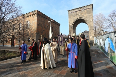 Christmas Patriarchal Liturgy and Water Blessing Order took place at the Mother See of Holy Etchmiadzin - Photolure News Agency