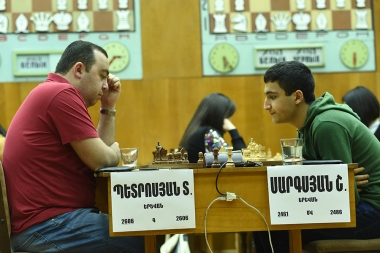The first round of the chess championship tournament took place at the RA Chess House - Photolure News Agency