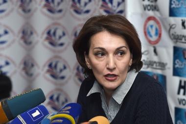 Head of 'Freedom of Information Center' NGO Liana Dodoyan is guest in Tesaket - Photolure News Agency