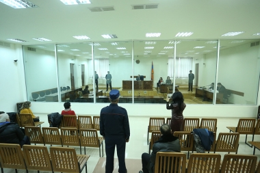 Hearings of 'Sasna Tsrer' group's case took place at the Court of General Jurisdiction of Shengavit Administrative District - Photolure News Agency