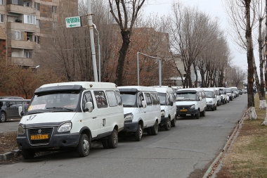 Minibus drivers went on strike against gas price increase - Photolure News Agency