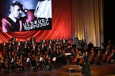 RA State Symphonic Orchestra with the support of the RA Ministry of Culture presents the new performances Alexey Ekimyan's beloved and anticipated songs at the National Academic Theatre of Opera and Ballet named after Al. Spendiaryan - Photolure News Agency