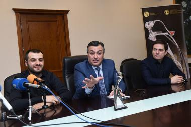 A press conference ahead of the National Music Award 'Tsitsernak - 2018' took place at the RA Ministry of Culture - Photolure News Agency